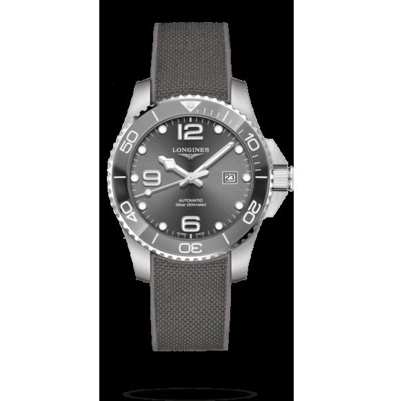 Reloj Longines HydroConquest L3.782.4.76.9  automático de acero y cerámica para hombre