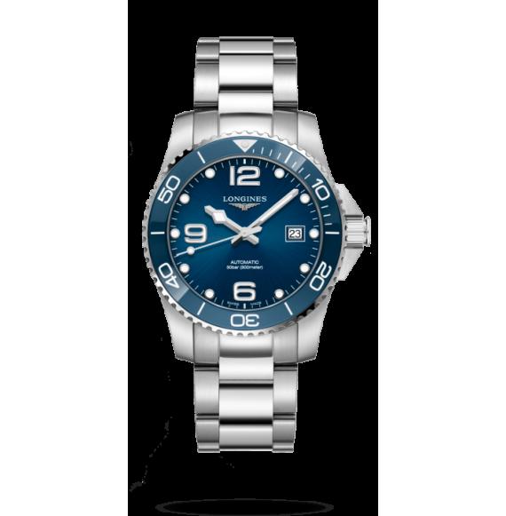 Reloj Longines HydroConquest cerámico L3.781.4.96.6 automático de acero inoxidable para hombre