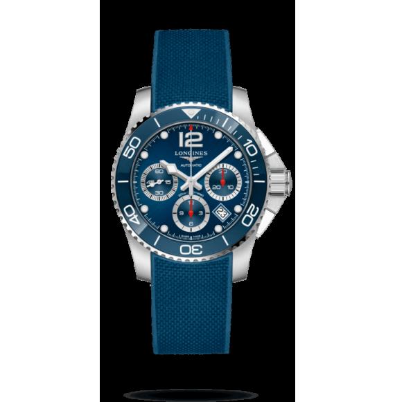 Reloj Longines Hydroconquest L3.783.4.96.9 automático de acero y cerámica para hombre