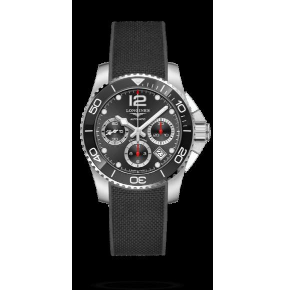 Reloj Longines Hydroconquest L3.783.4.56.9 automático de acero y cerámica para hombre