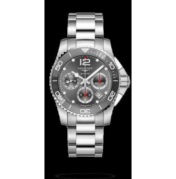 Reloj Longines  Hydroconquest L3.783.4.76.6 automático de acero inoxidable para hombre
