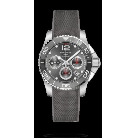 Reloj Longines Hydroconquest L3.783.4.76.9 de acero y cerámica para hombre.