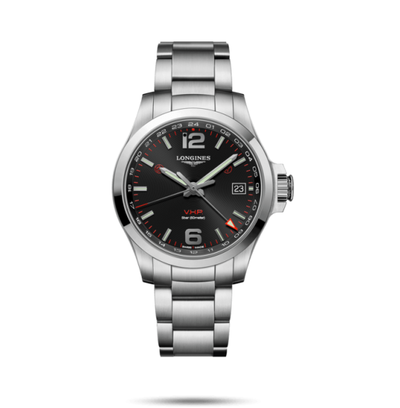 Reloj Longines Conquest V.H.P L3.718.4.56.6 cuarzo de acero inoxidable para hombre
