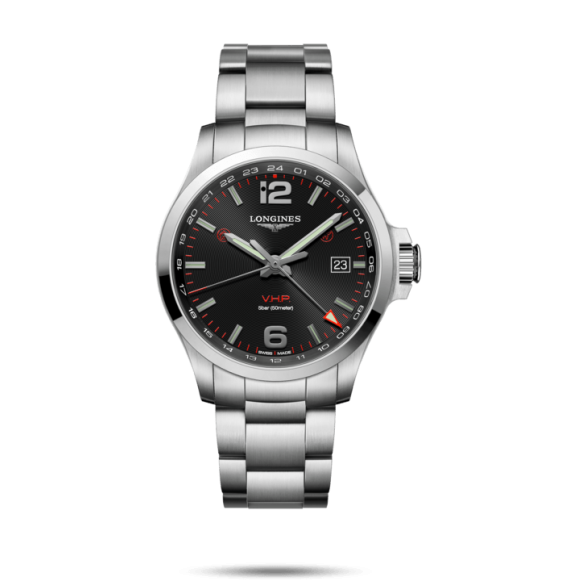 Reloj Longines Conquest V.H.P L3.728.4.56.6 cuarzo de acero inoxidable para hombre