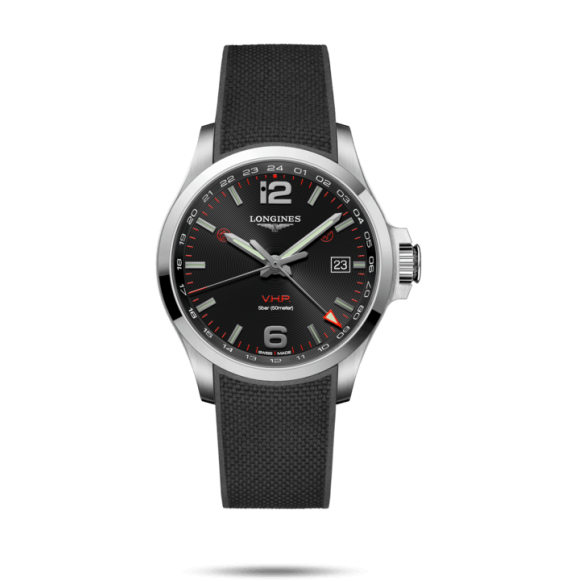 Reloj Longines Conquest V.H.P L3.728.4.56.9 cuarzo de acero inoxidable para hombre