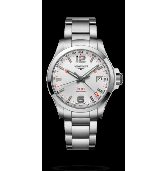 Reloj Longines Conquest V.H.P L3.718.4.76.6 cuarzo de acero inoxidable para hombre