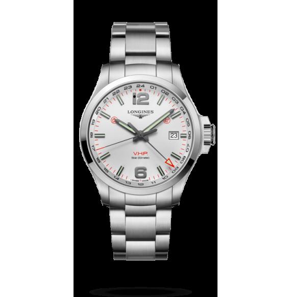 Reloj Longines Conquest V.H.P L3.728.4.76.6 cuarzo de acero inoxidable para hombre