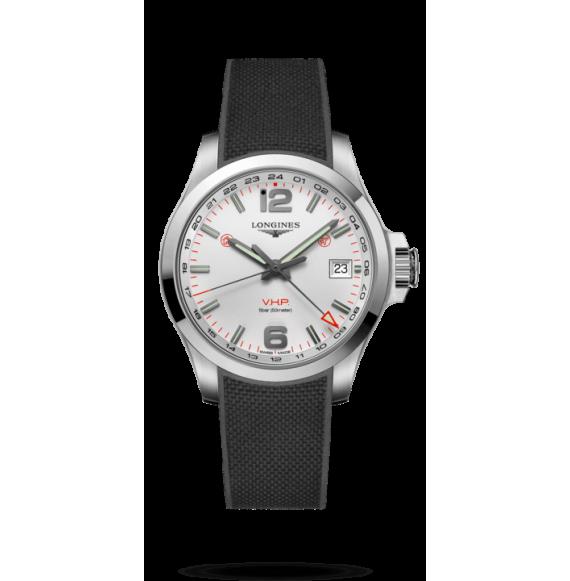 Reloj Longines Conquest V.H.P L3.718.4.76.9 cuarzo de acero inoxidable para hombre