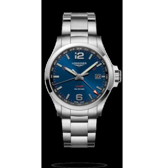 Reloj Longines Conquest V.H.P L3.728.4.96.6 cuarzo de acero inoxidable para hombre