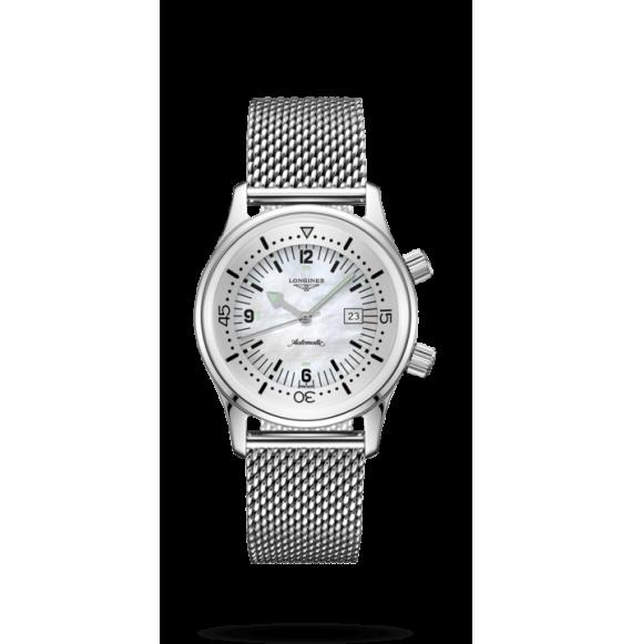 Reloj Longines Heritage L3.374.4.80.6 automático de acero inoxidable para mujer