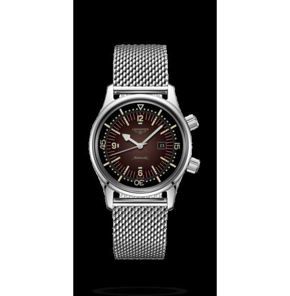 Reloj Longines Heritage L3.374.4.60.6 automático de acero inoxidable para mujer