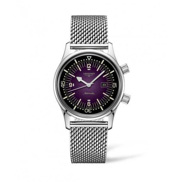 Reloj Longines Heritage L3.374.4.90.6 Legend automático de acero inoxidable para mujer