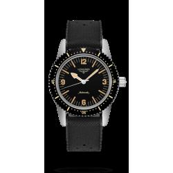 Reloj Longines Heritage Skin Diver Watch automático de acero para hombre