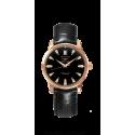 Reloj Longines Conquest Heritage automático de oro rosa para mujer