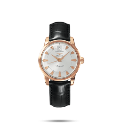 Reloj Longines Conquest Heritage automático de oro rosa mujer
