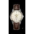 Reloj marrón Longines Heritage flagship L4.795.4.78.2 automático de acero inoxidable unisex