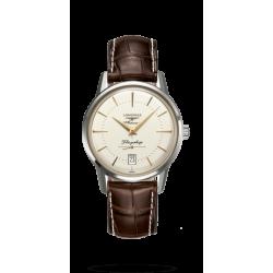 Reloj Longines Flagship Heritage automático de acero unisex