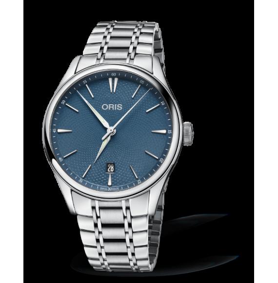 moda más deseable como encontrar precios grandiosos Reloj Oris Artelier Date 01 733 7721 4055-07 8 21 88 Auto de Acero.