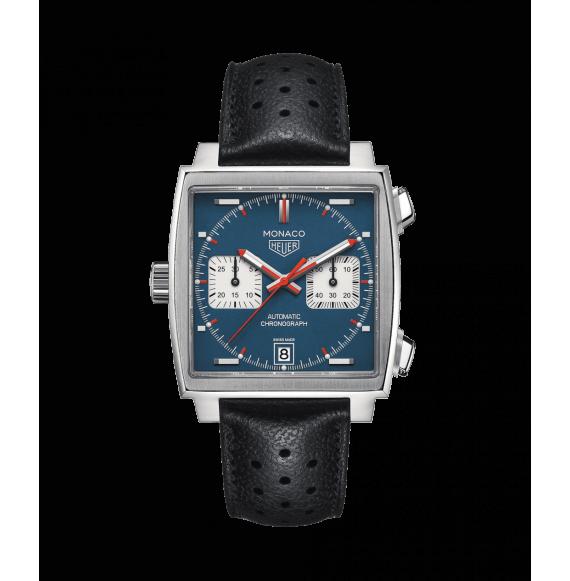 Reloj acero Tag Heuer Monaco CAW211P.FC6356 automático con cronógrafo para hombre