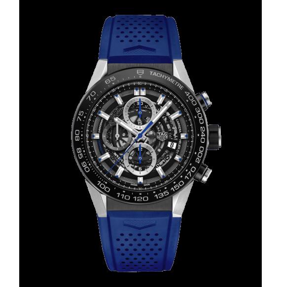 Reloj acero Tag Heuer Carrera CAR2A1T.FT6052 automático con cronógrafo para hombre