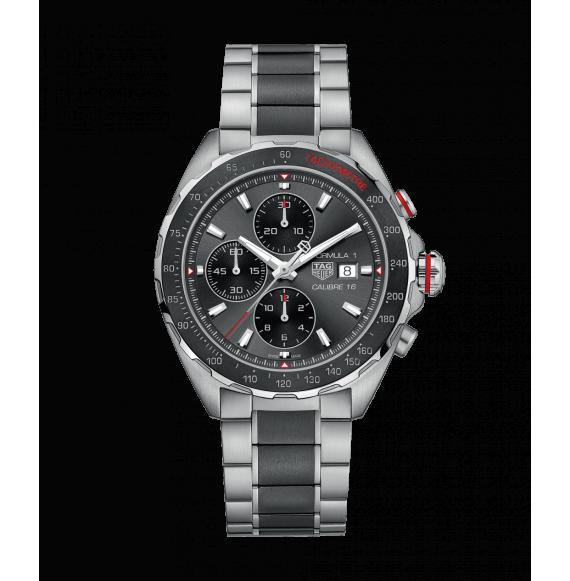 fotos oficiales b9135 2b98d Reloj Tag Heuer Formula 1 Calibre 16 CAZ2012.BA0970 Auto y Cronógrafo