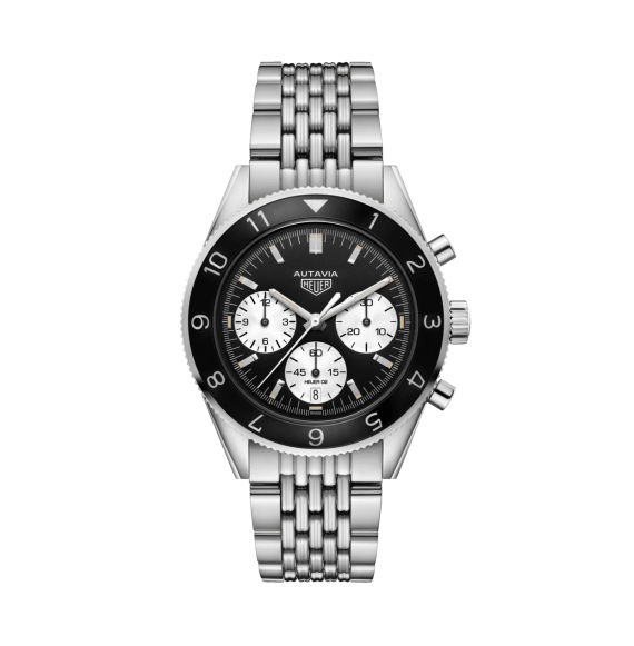 Reloj acero pulido Tag Heuer Autavia CBE2110.BA0687 automático con cronógrafo para hombre