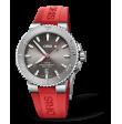 Reloj rojo Oris Aquis 01 733 7730 4153-07 4 24 66EB automático de acero inoxidable para hombre
