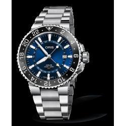 Reloj Oris Aquis GMT Date automático de acero para hombre