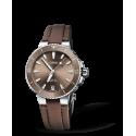 Reloj  Oris Aquis Date automático de acero para mujer