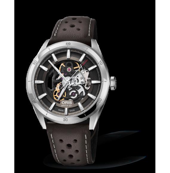 Reloj piel marrón Artix GT Skeleton 01 734 7751 4133-07 5 21 09FC automático de acero para hombre