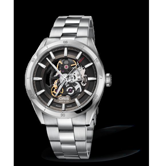 Reloj esfera gris Artix GT Skeleton 01 734 7751 4133-07 8 21 87 automático de acero para hombre