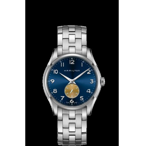 Reloj Hamilton Jazzmaster Thinline Small Second Quartz H38411140  acero hombre