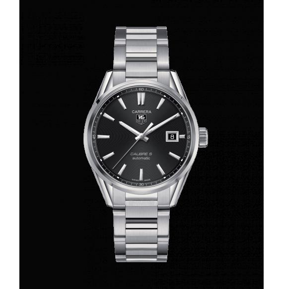 Reloj Tag Heuer Carrera Calibre 5 WAR211A.BA0782 automático de acero unisex
