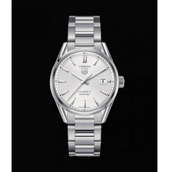 Reloj Tag Heuer Carrera Calibre 5 WAR211B.BA0782 automático de acero unisex