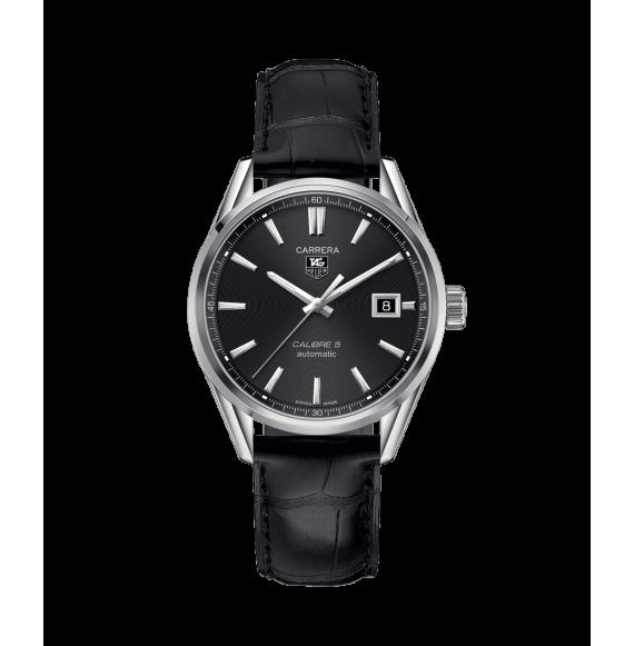 Reloj Tag Heuer Carrera Calibre 5 WAR211A.FC6180 automático de acero unisex