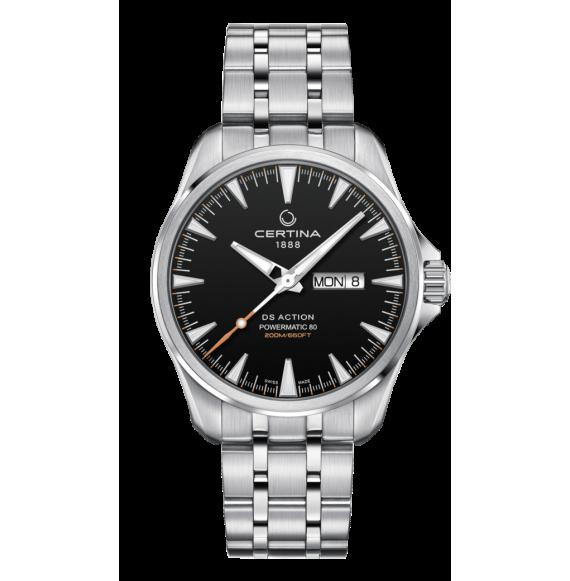 Reloj Certina DS Action Day-Date Powematic 80 C032.430.11.051.00 Automático de acero para hombre
