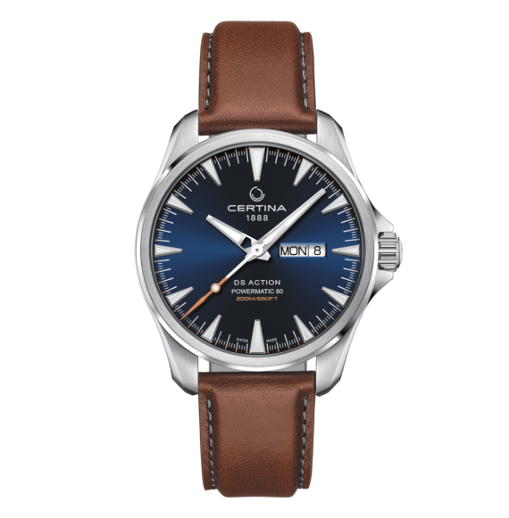 Reloj Certina Aqua DS Action Day-Date Powematic 80 C032.430.16.041.00 Automático de acero para hombre