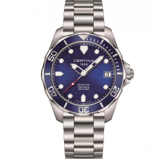 Reloj Certina Aqua DS Action Precidrive C032.410.11.041.00 Cuarzo de acero para hombre