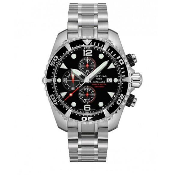 Reloj Certina Aqua DS Action Diver Chronograph Automatic C032.427.11.051.00 de acero para hombre