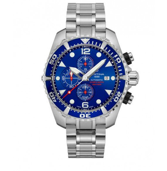 Reloj Certina Aqua DS Action Diver Chronograph Automatic C032.427.11.041.00 de acero para hombre