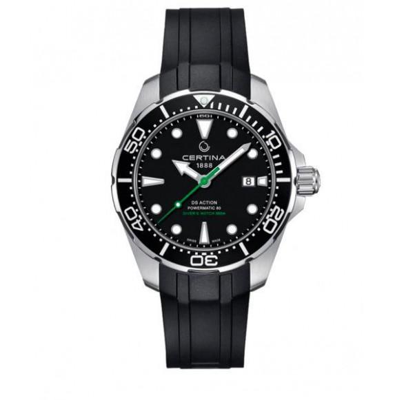 Reloj Certina Aqua DS Action Diver Powermatic 80 Automático C032.407.17.051.00 de acero para hombre