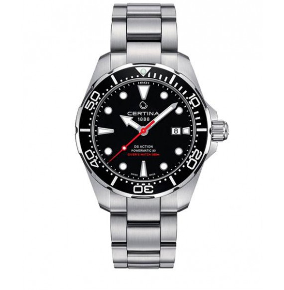 Reloj Certina Aqua DS Action Diver Powermatic 80 C032.407.11.051.00 Automático de acero para hombre