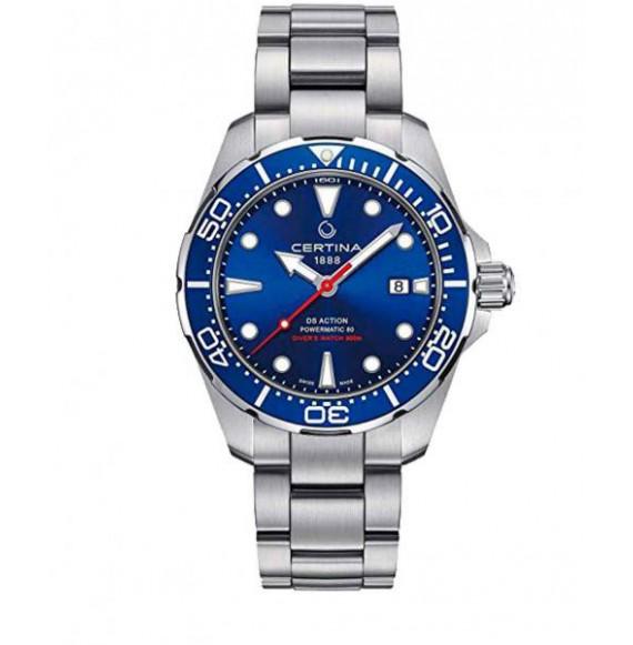 Reloj Certina Aqua DS Action Diver Powermatic 80 C032.407.11.041.00 Automático de acero para hombre