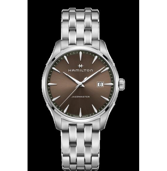 Reloj Hamilton Jazzmaster Gent Quartz H32451101 de acero para hombre