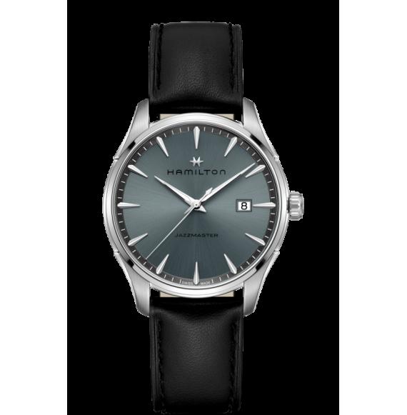 Reloj Hamilton Jazzmaster Gent Quartz H32451742 de acero para hombre