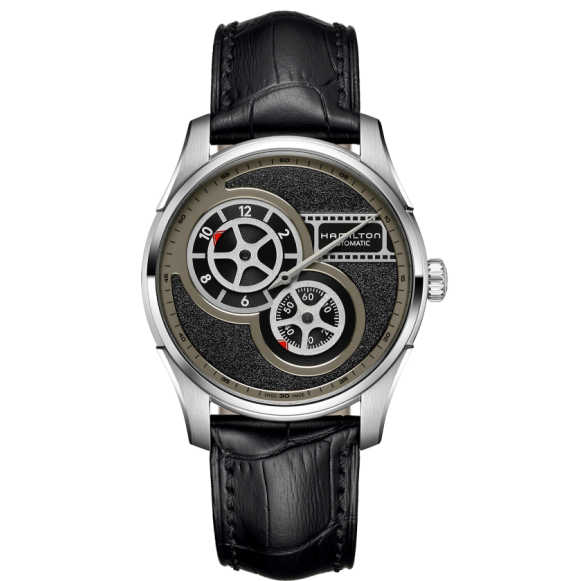 Reloj Hamilton Jazzmaster Regulator Cinema Automático H42605731 de acero para hombre