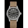 Reloj Hamilton Khaki Field H70545550 Titanium Auto para hombre