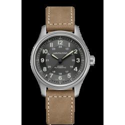 Reloj Hamilton Khaki Field Titanium Auto para hombre