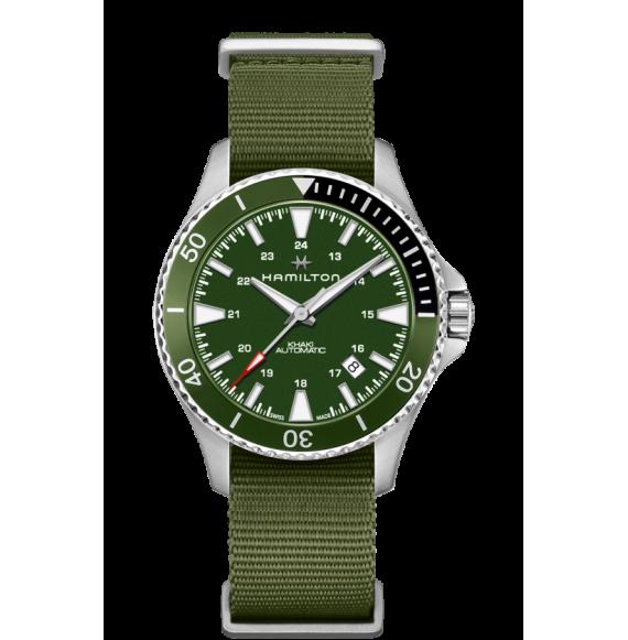 Reloj Hamilton Khaki Navy Scuba H82375961 Automático de acero para hombre