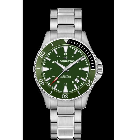 Reloj Hamilton Khaki Navy Scuba H82375161 Automático de acero para hombre